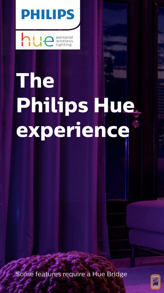 Screenshot - Philips Hue
