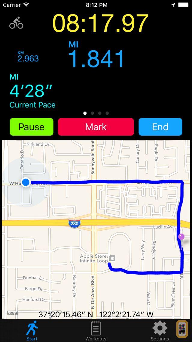 Screenshot - Outdoor Run++
