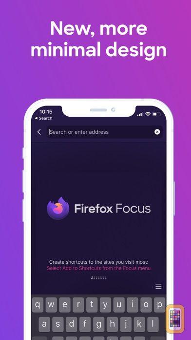 Screenshot - Firefox Focus: Privacy browser