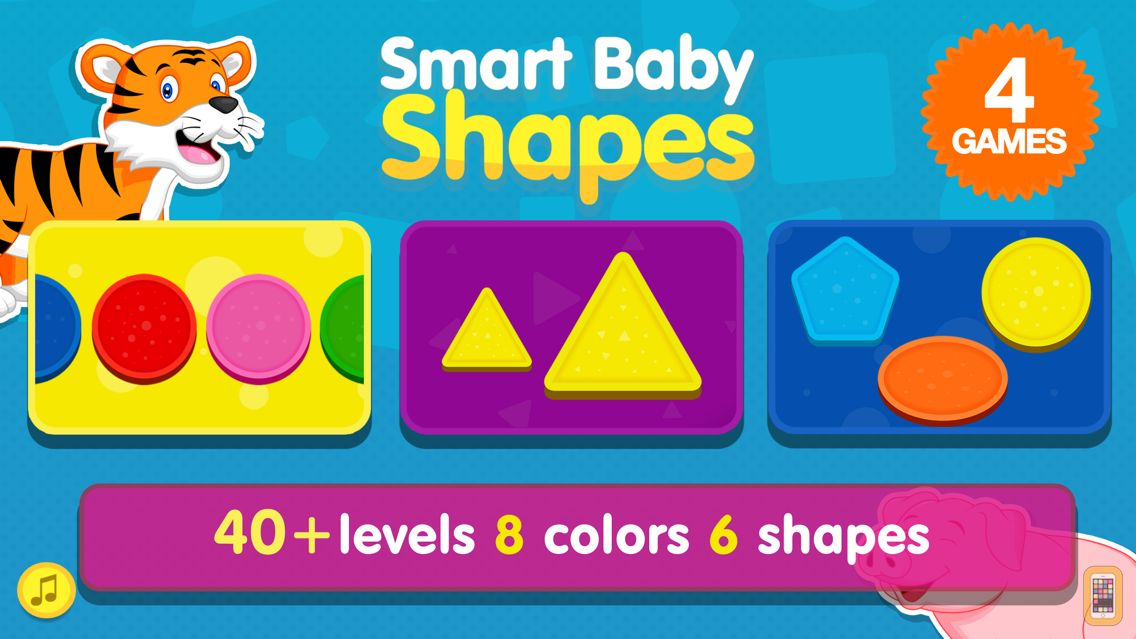 Screenshot - Smart Baby Shapes: Learning games for toddler kids