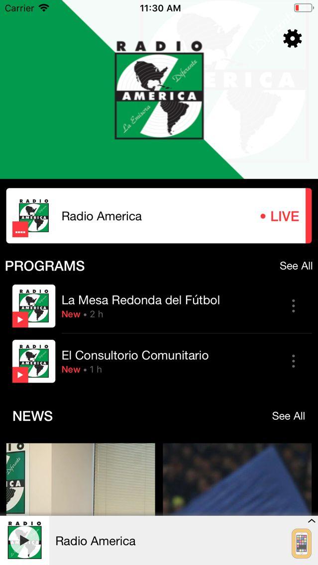 Screenshot - Radio América