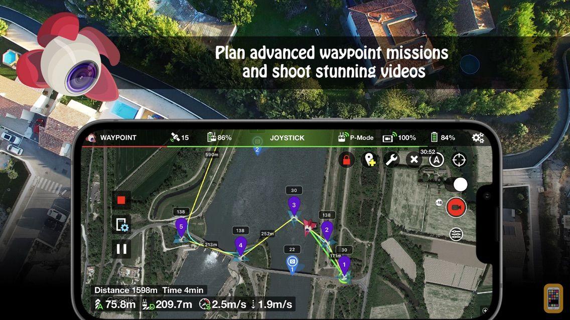 Screenshot - Litchi for DJI Drones