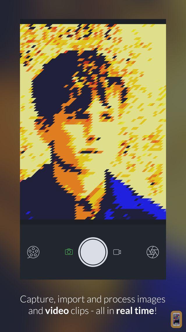 Screenshot - GeometriCam - abstract geometric design in real-time