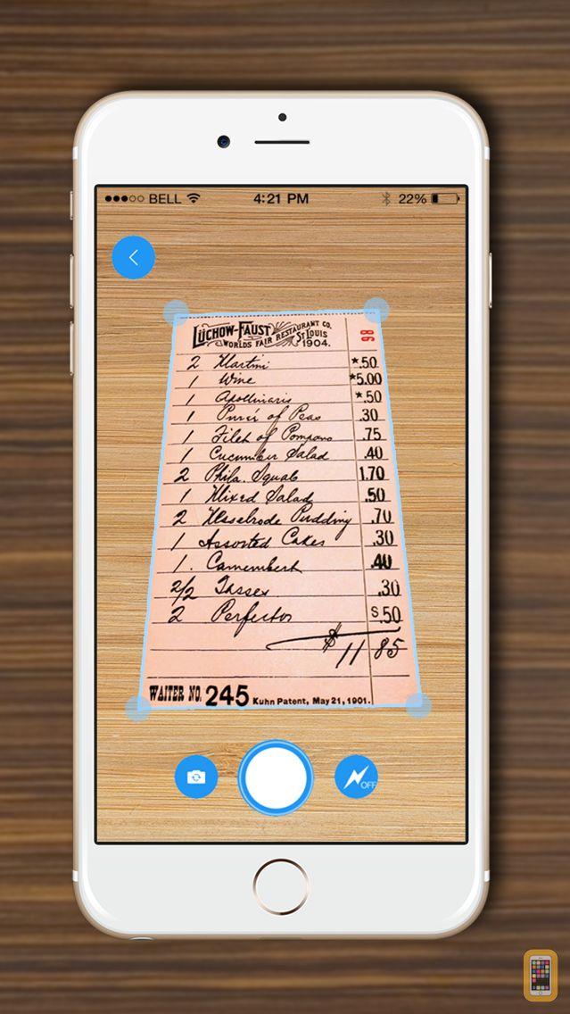 Screenshot - DocScanner - Scan Documents, Receipts, Biz Cards