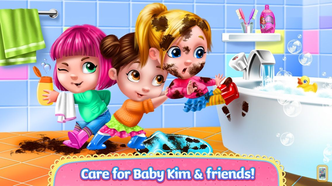 Screenshot - Baby Kim - Care & Dress Up