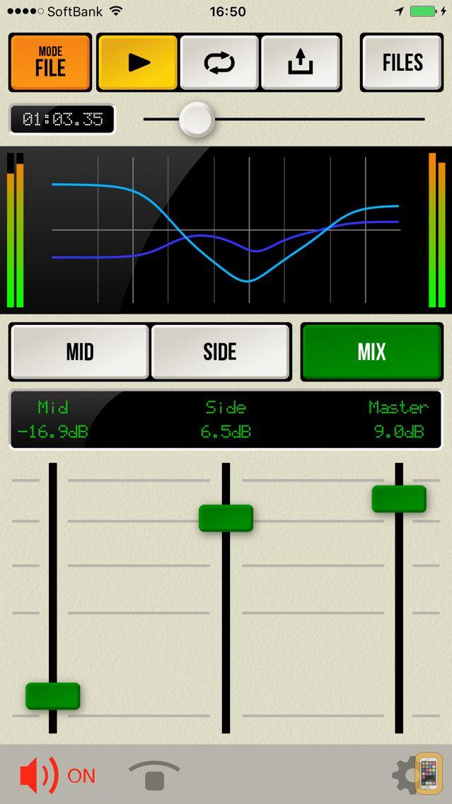 Screenshot - M/S Proc - Mid/Side Level & EQ
