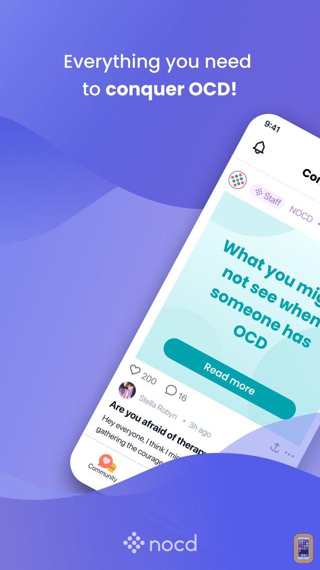 Screenshot - nOCD: OCD Treatment App