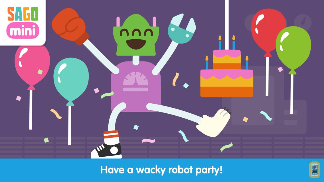 Screenshot - Sago Mini Robot Party