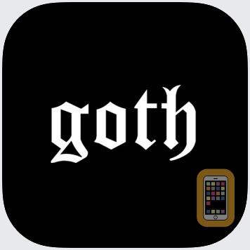 Goth Emoji by Daniel Saidi AB (Universal)
