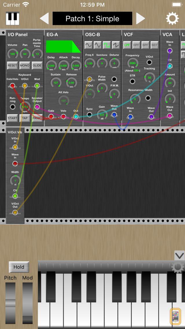 Screenshot - KQ MiniSynth