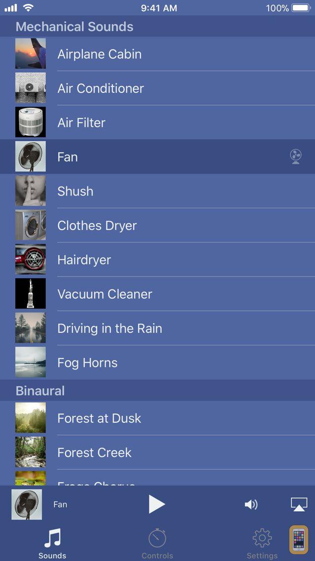 Screenshot - Deep Sleep Sounds - Pro