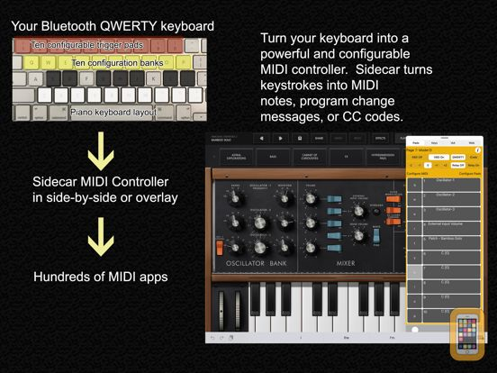Screenshot - Sidecar MIDI Controller
