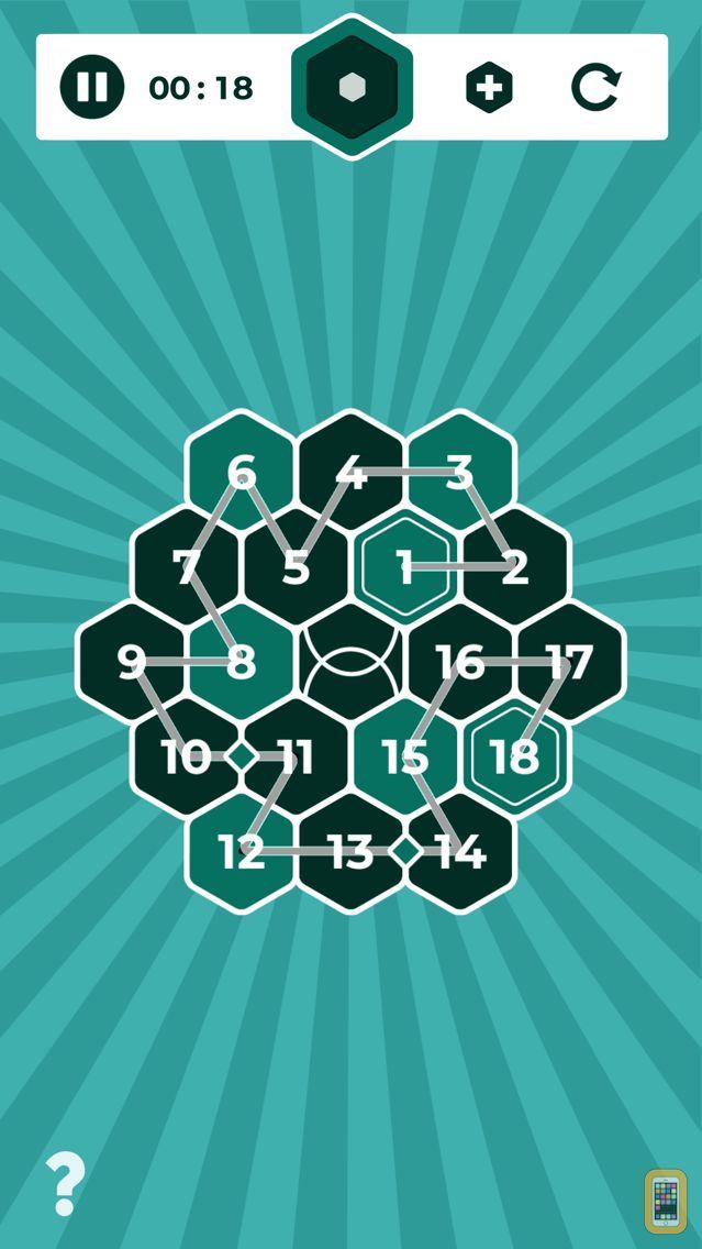 Screenshot - Number Mazes: Rikudo Puzzles