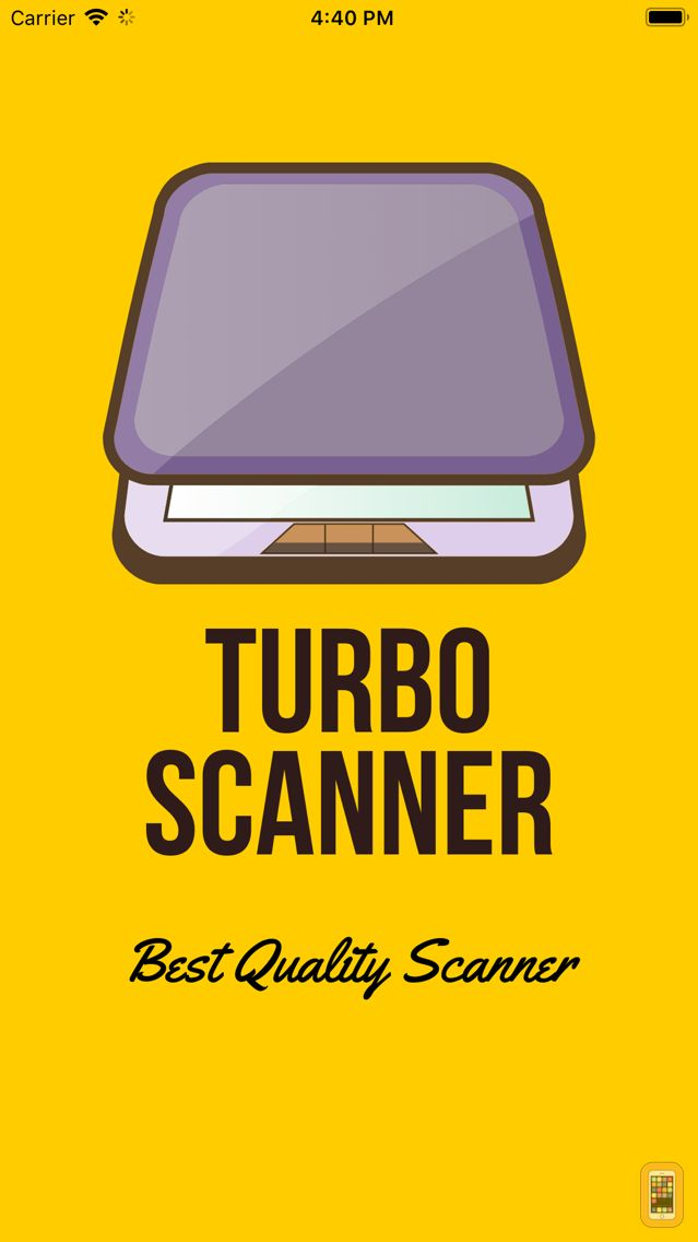 Screenshot - TurboScan