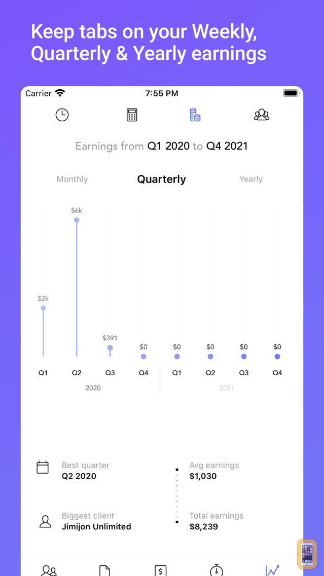Screenshot - Invoice & Estimate with Alto