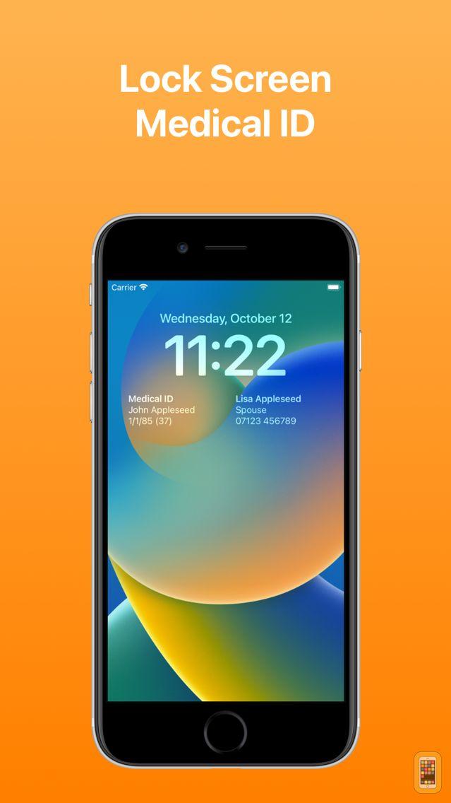 Screenshot - MediCall: Medical ID Wallpaper