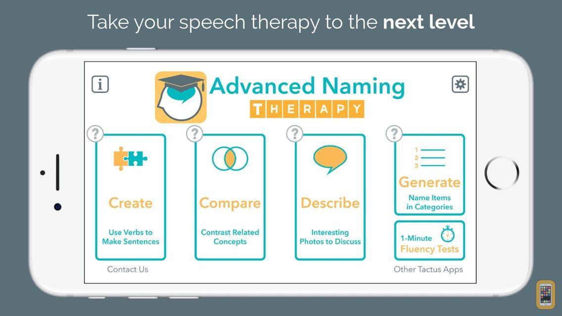 Screenshot - Advanced Naming Therapy