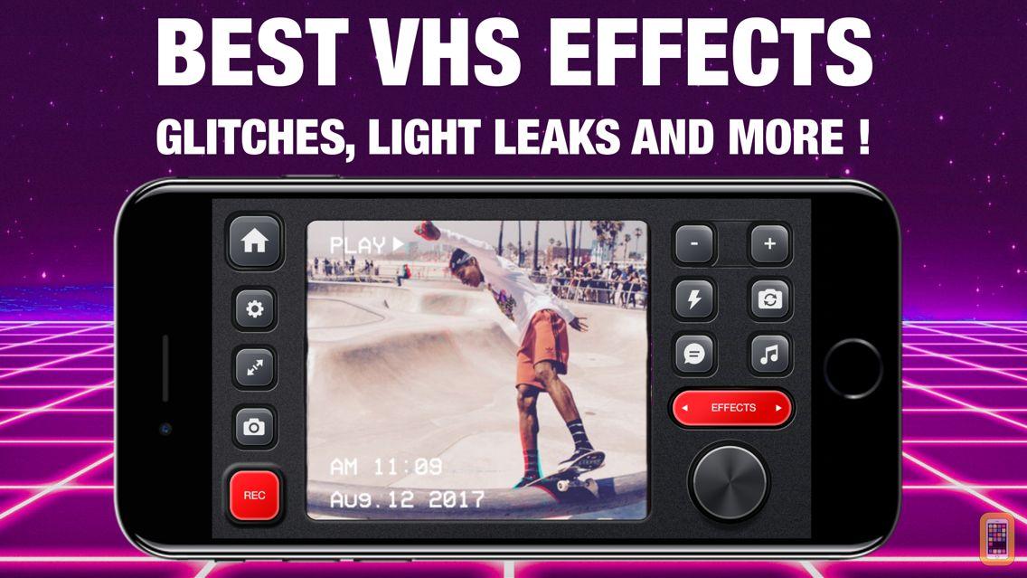 Screenshot - VHS Glitch Camcorder