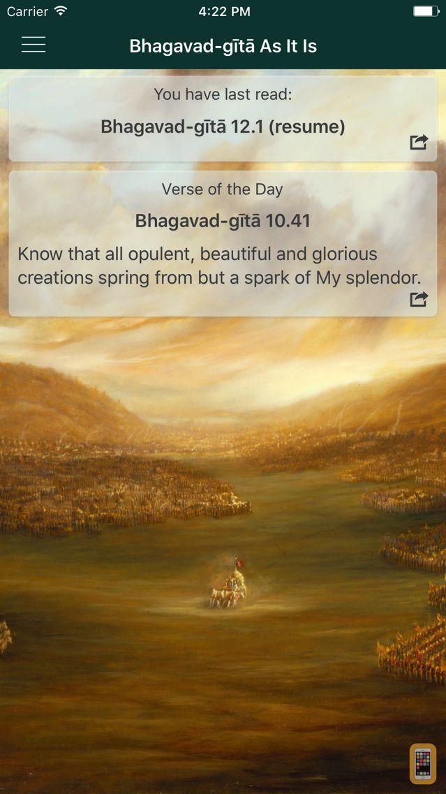 Screenshot - Bhagavad-gita As It Is
