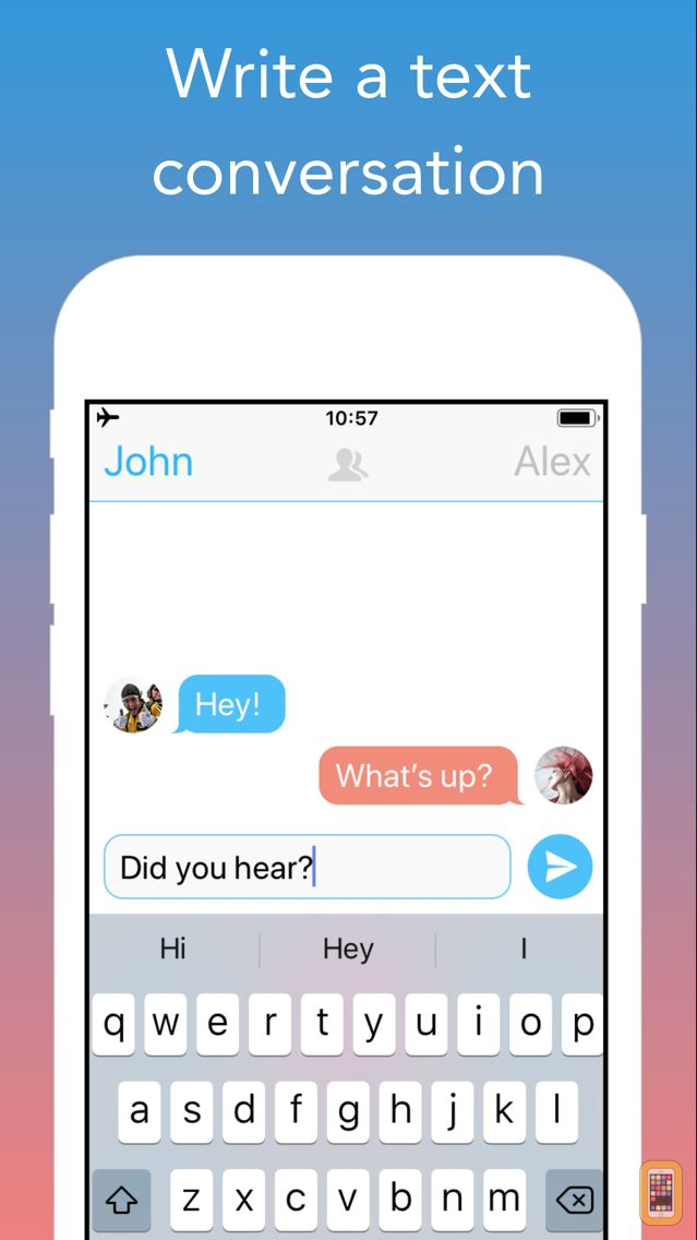 Screenshot - TextingStory Chat Story Maker