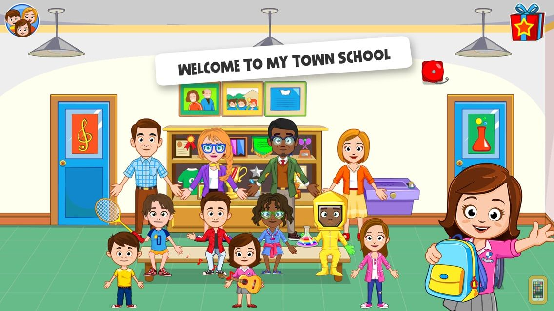 Screenshot - My Town : School