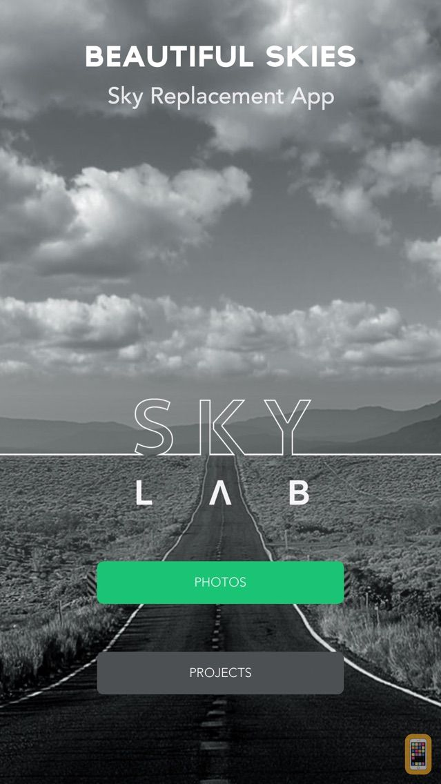 Screenshot - SkyLab Photo Editor
