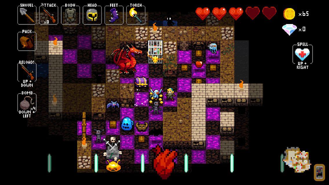 Screenshot - Crypt of the NecroDancer