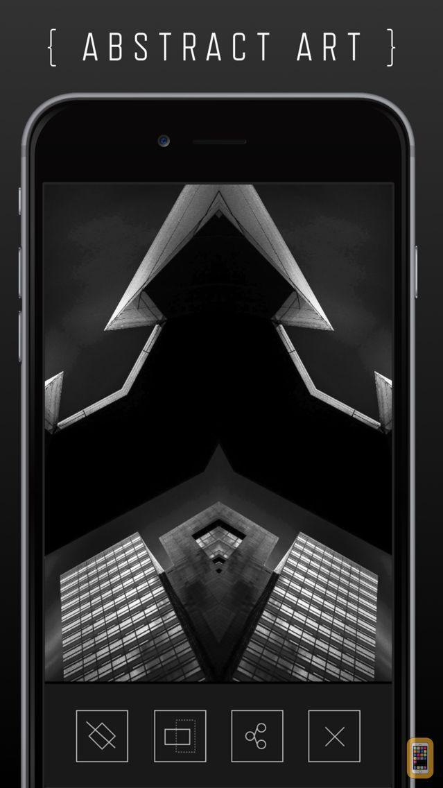 Screenshot - REFLKT ® Abstract Photo Symmetry Art Generator