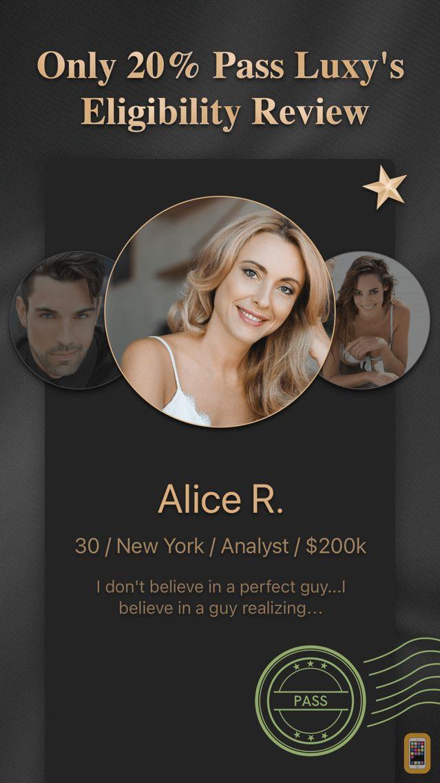 Screenshot - Luxy PRO: Selective Dating