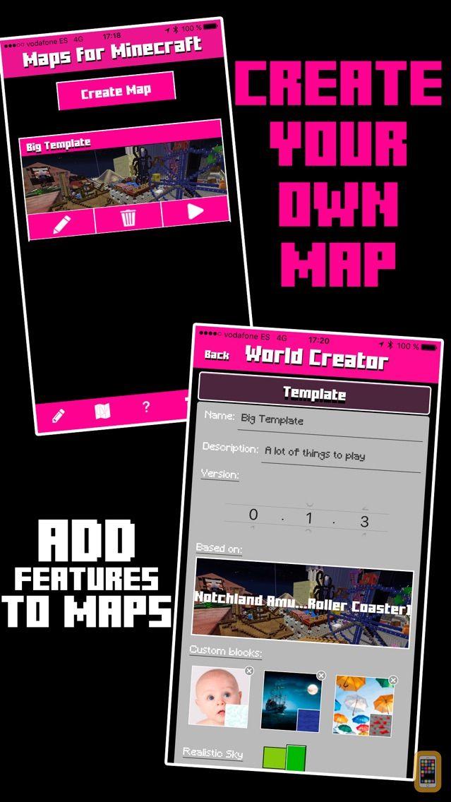 Screenshot - Maps for Minecraft : Pocket Edition