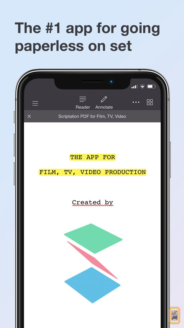 Screenshot - Scriptation PDF for Film & TV