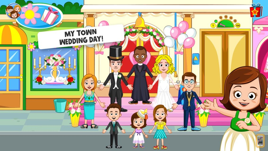 Screenshot - My Town : Wedding Day
