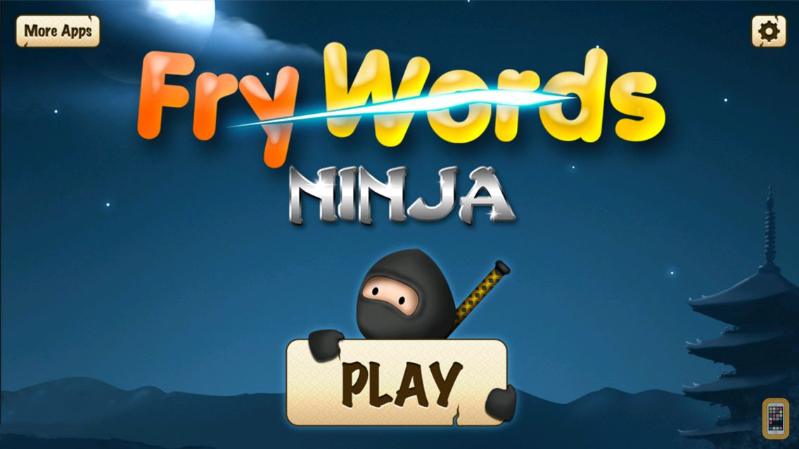 Screenshot - Fry Words Ninja - Reading Game
