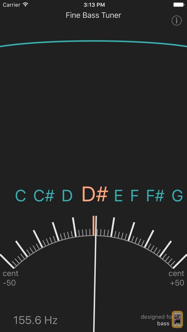 Screenshot - Fine Bass Tuner