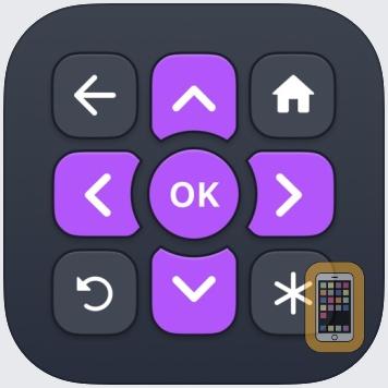 Roku TV Remote Control: RoByte by TinyByte Apps (Universal)