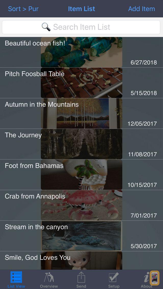 Screenshot - Home Inventory for Insurance