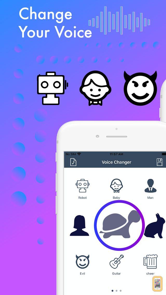 Screenshot - Voice Change.r Prank Recorder