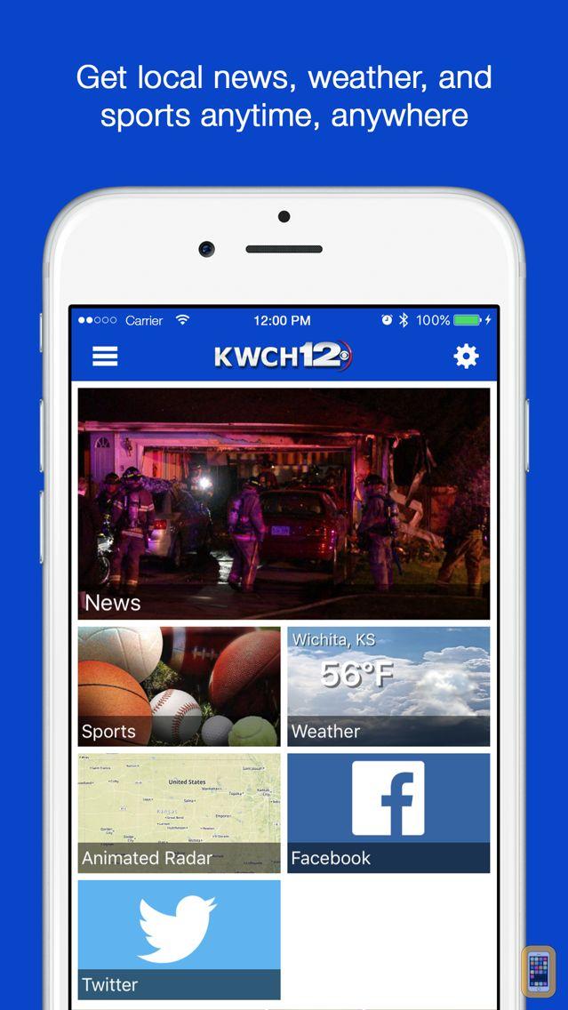 Screenshot - KWCH 12 News
