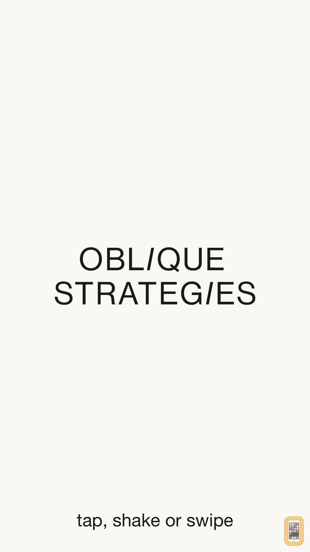 Screenshot - Oblique Strategies SE