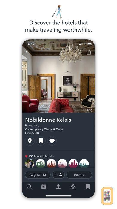 Screenshot - Tablet Hotels