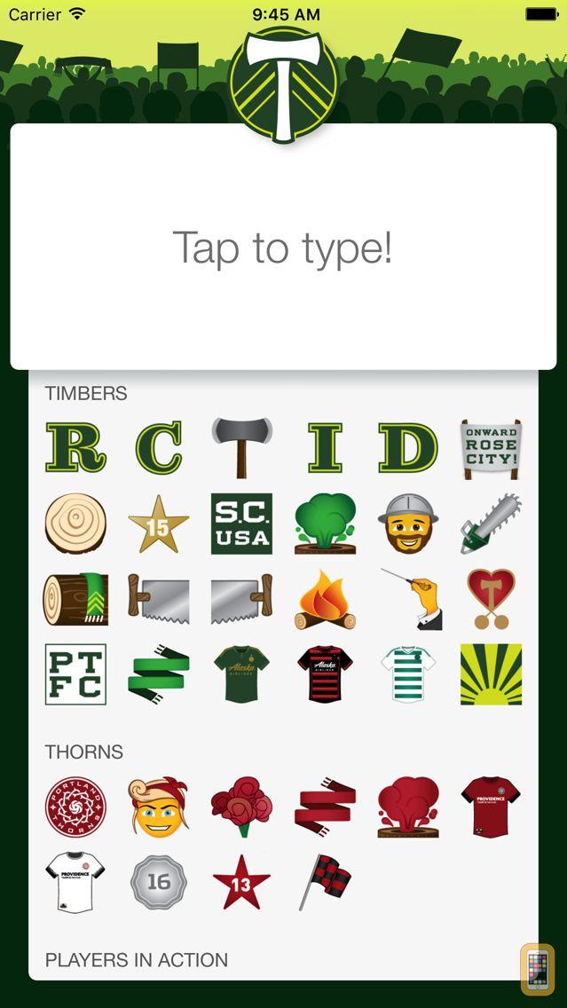 Screenshot - Two-Stick: Portland Timbers Messenger