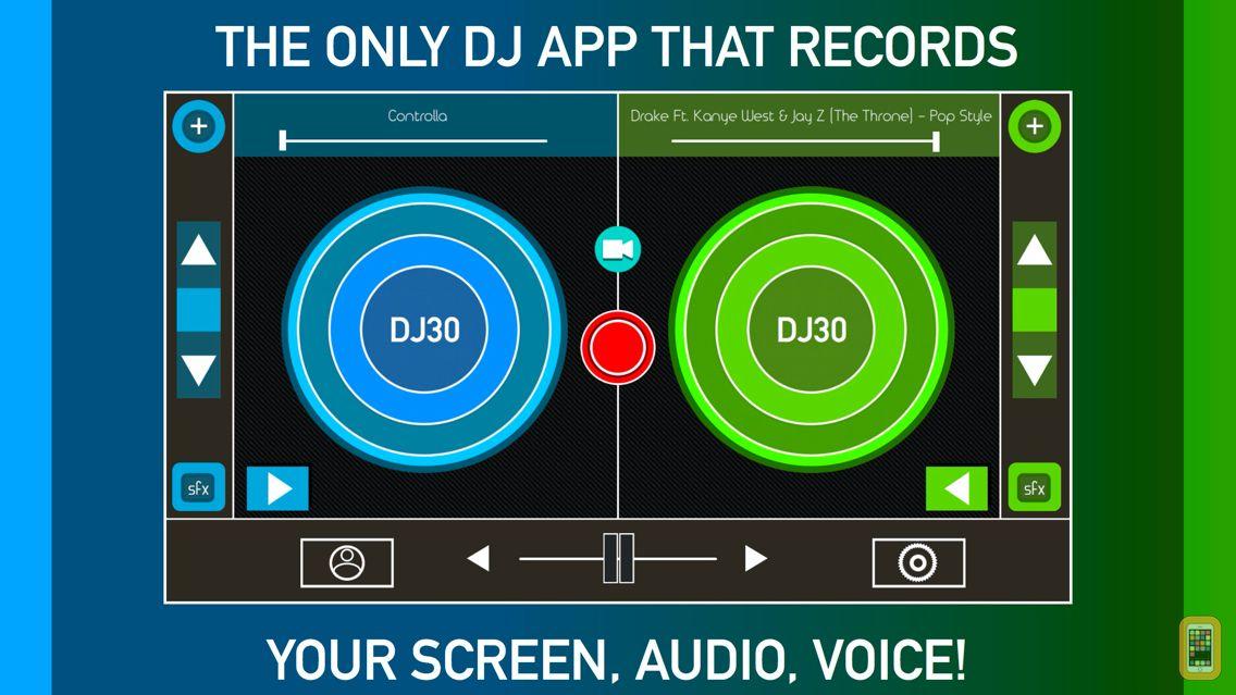 Screenshot - DJ Record Screen Music & Voice