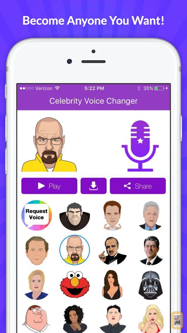 Screenshot - Celebrity Voice Changer - Funny Voice FX Cartoon Soundboard
