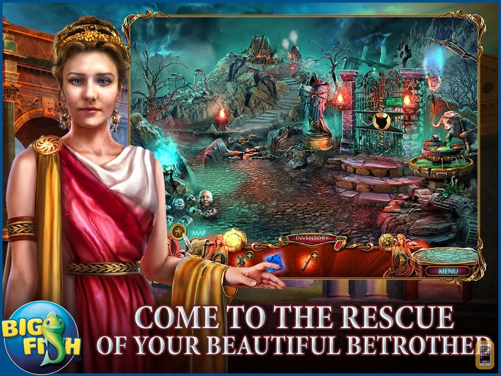 Screenshot - Dark Romance: Kingdom of Death HD - A Hidden Object Adventure (Full)