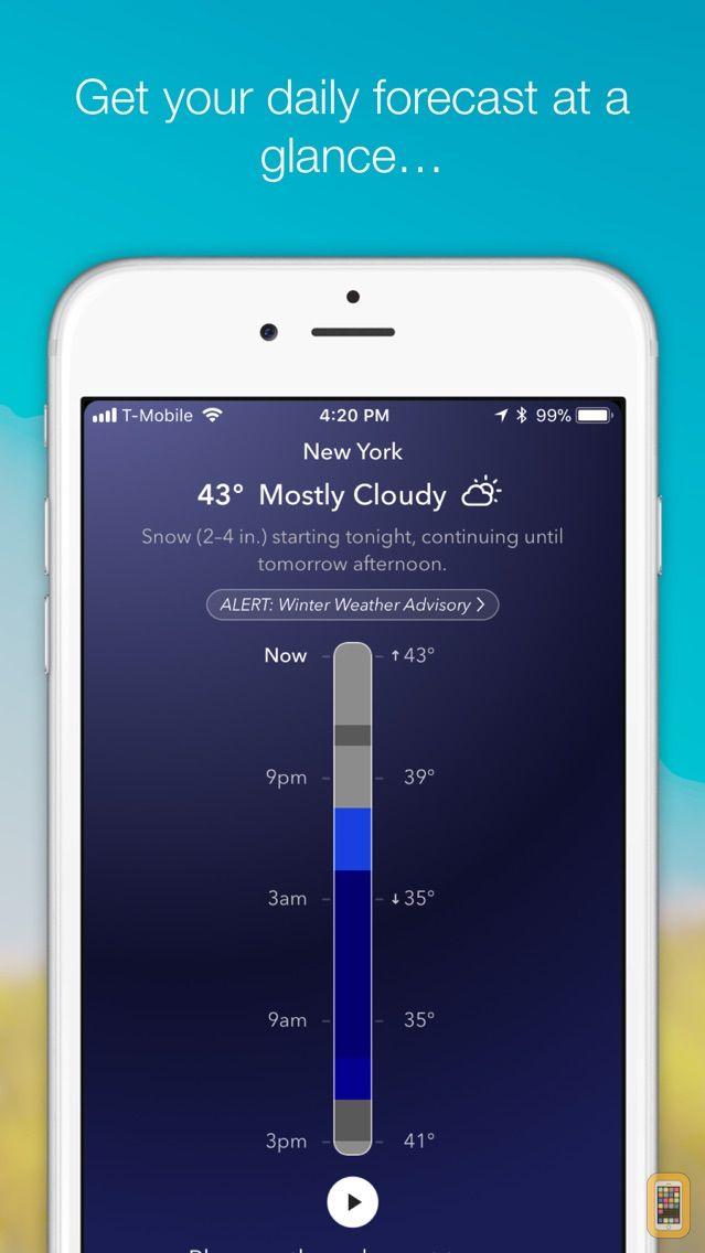 Screenshot - Weather Tunes -Free weather based music & forecast