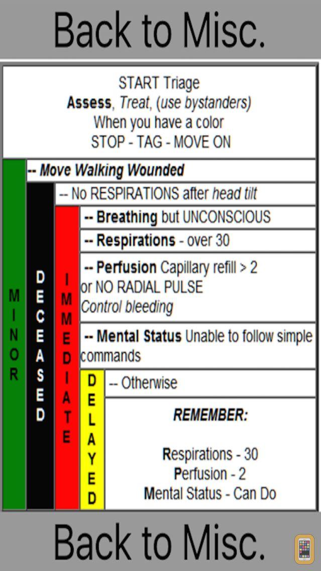 Screenshot - NJ EMT Quick Guide