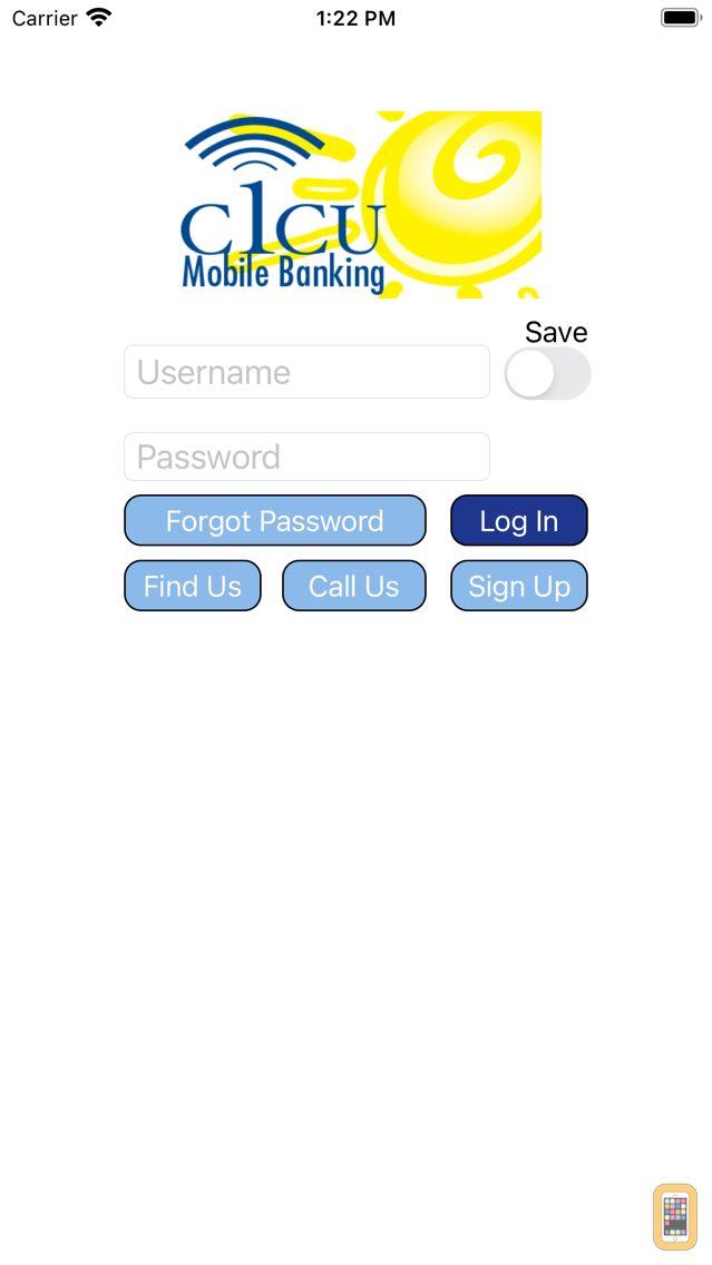 Screenshot - C1CU Mobile