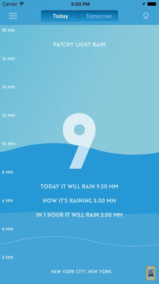 Screenshot - Pluviometer - Rain gauge