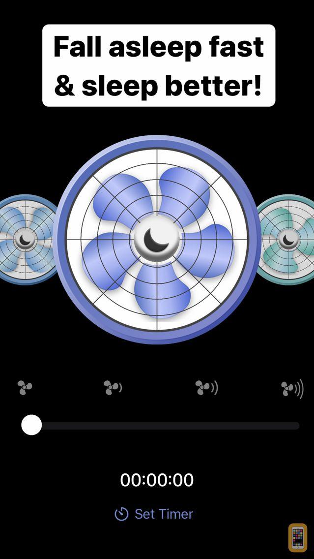 Screenshot - Sleep Aid Fan - White Noise