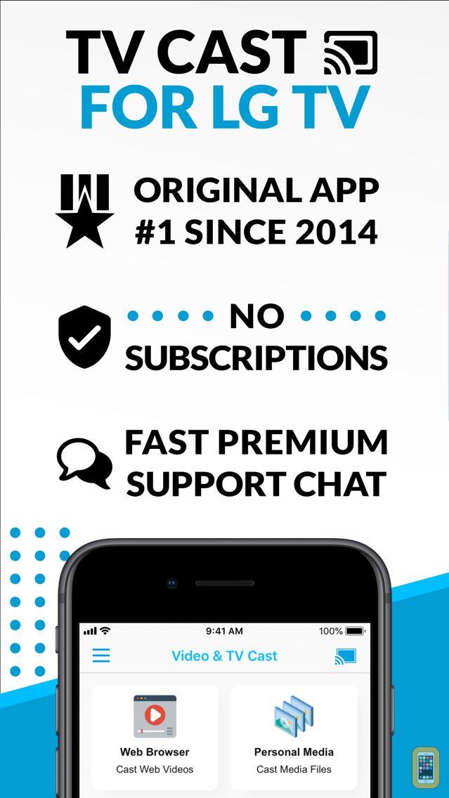 Screenshot - Video & TV Cast + LG Smart TV